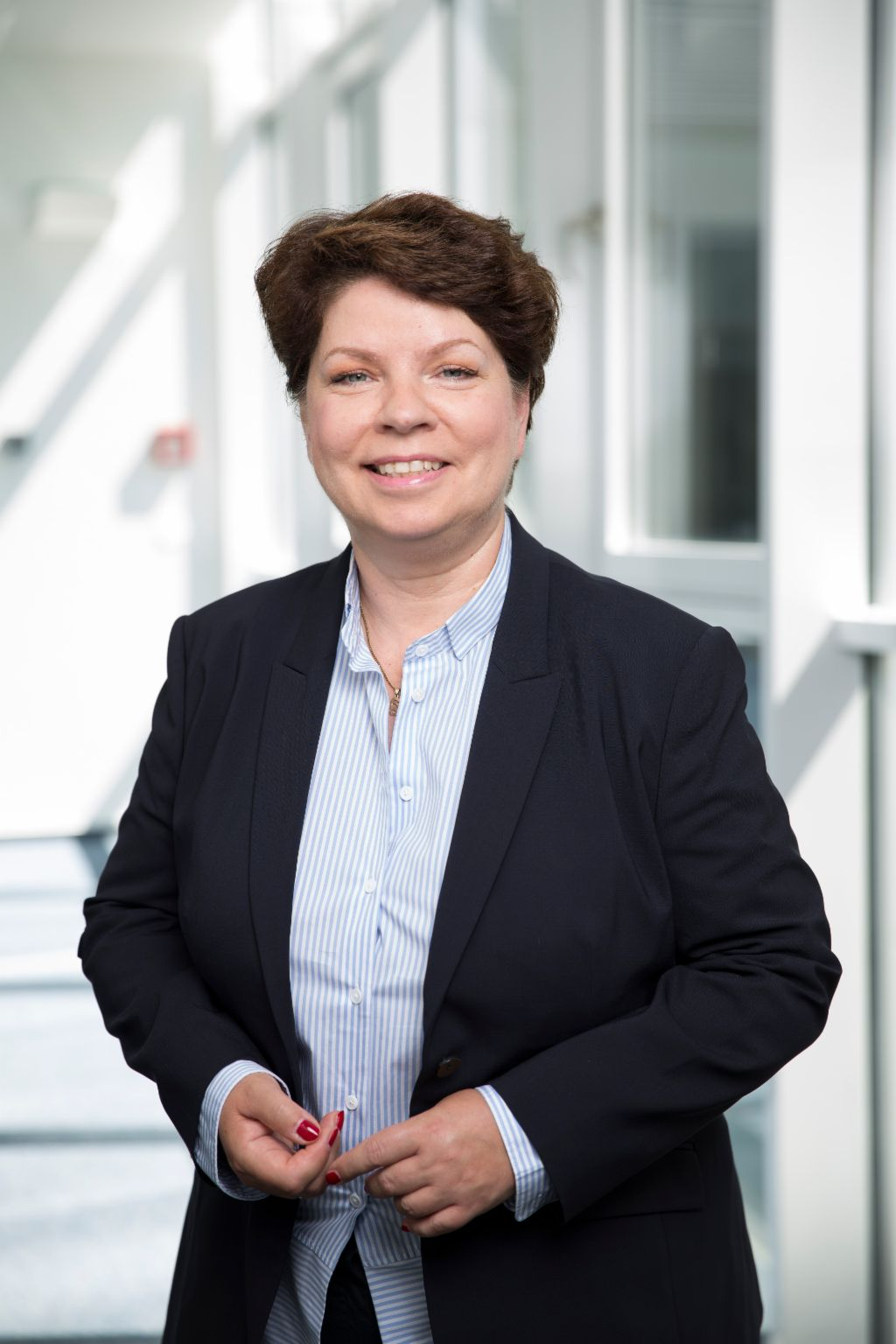 Kirsten Pedd, Chef-Syndika und Head of Public Affairs der EOS Gruppe